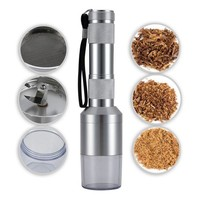 ONETOW Scotte(TM) New Aluminium alloy tobacco grinder with filter screen electric tobacco/herb grinder