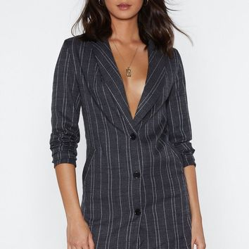 Conference Call Blazer Dress