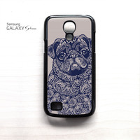 pug mandala for phone case Samsung Galaxy Mini  S3/S4/S5