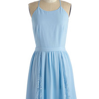 ModCloth Mid-length Sleeveless A-line Between You and Glee Dress