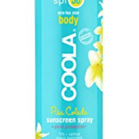 Coola Suncare Eco-Lux Sport SPF 30 Sunscreen Spray, Pina Colada, 8 fl. oz