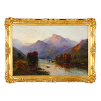 1STDIBS.COM - The Englishman Fine Art - The Slopes of Ben Venue by Alfred Fontville De Breanski