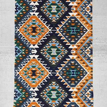 Magical Thinking Ankara Diamond Printed Rug