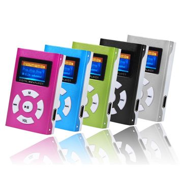 USB Mini MP3 Player LCD Screen Support 32GB Micro SD Card