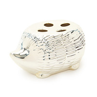 FOREVER 21 Hedgehog Toothbrush Holder Gold One