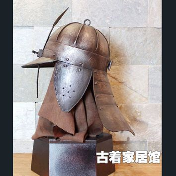 European Medieval Armor Poland Warrior Helmet