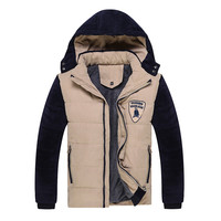 Padded Winter Cotton Stylish Korean Thicken Hats Jacket [7912461123]