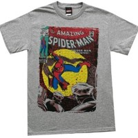 Spider-Man Marvel Comics Wanted Issue Superhero Adult T-Shirt Tee