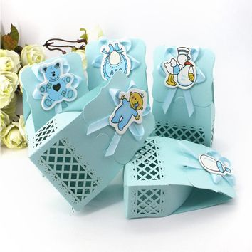 12pcs Baby Boy/Girl Shower Party Gift or Candy Box