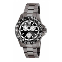 Invicta 7011 Men's Signature II Black Dial Gunmetal IP Steel Quartz Watch