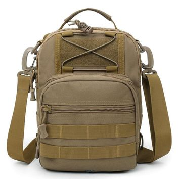 TACTICAL Bags Militari Outdoor Military Camo Sling Pack 900D Nylon Urban Sports Chest Bag SWAT Hunting Molle Messenger Bag