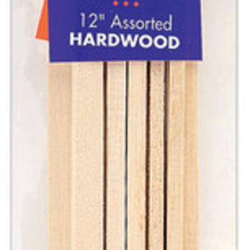 "square craft dowels 12"" 10/pkg"