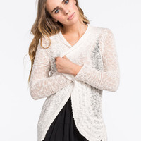 Roxy Sea Of Love Womens Cardigan Cream  In Sizes