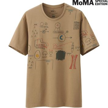 MEN SPRZ NY GRAPHIC SHORT SLEEVE T (JEAN-MICHEL BASQUIAT) | UNIQLO