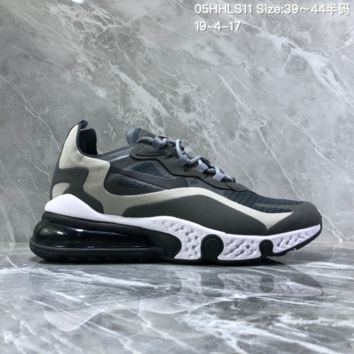 hcxx N1287 Nike asymmetrical color 2019 new sneakers air cushion casual running shoes Gray