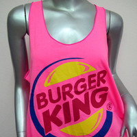 Burger King T-Shirt (Pink)
