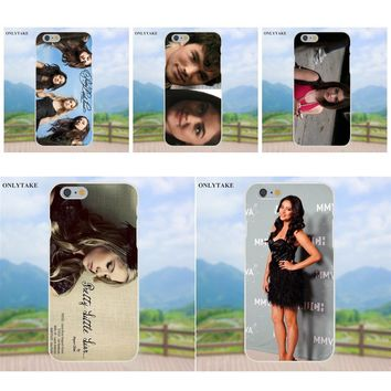 Soft Fashion Phone Case For Apple iPhone 4 4S 5 5C SE 6 6S 7 8 Plus X Galaxy Grand Core II Prime Alpha Pretty Little Liars Black