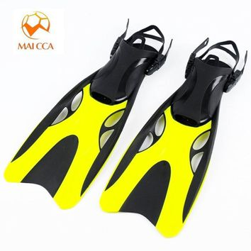 Professional scuba Diving Fins adult Adjustable swimming shoes long Submersible Snorkeling Foot monofin Diving Flippers