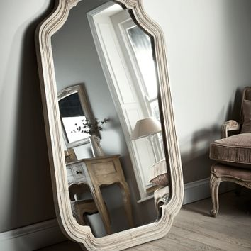 Carved Full Length Mirror - Mirrors