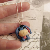 Eeyore necklace Hercules  inspired by AlchemianShop on Etsy