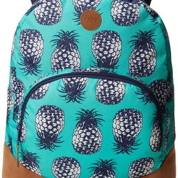 Roxy Juniors Fairness Backpack, Roxy Colada Marine Green, One Size