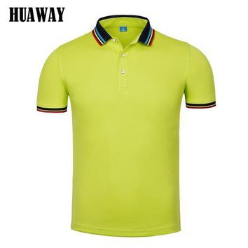 ESBON Men clothing New polo Shirt Business Casual fashion solid color polo male Short Sleeve designer breathable top tee Homme Camisas