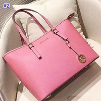 MK sells simple and plain lady shoulder bag fashionable and casual shopping bag #2