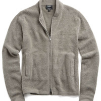 Cashmere Barracks Jacket in Grey