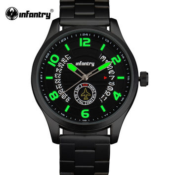 Men Watches Luxury Men's Auto Date Analog Sports Watch Men Army Military Quartz Wrist Watch
