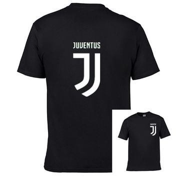 Juventus brand T-Shirt Men'S Lastest 2017 Fashion Short Sleeve Printed T-Shirt Funny Tee Shirts Hipster O-Neck Cool Tops