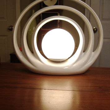 Vintage Mid Century Atomic Lamp Space Age by MountainCreekVintage