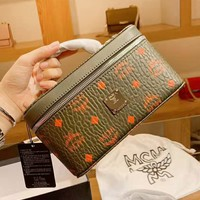 MCM fashion hot seller printed square handbag casual lady's toiletries