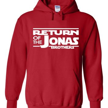 Return of the Jonas Brothers Hoodie Sweatshirt