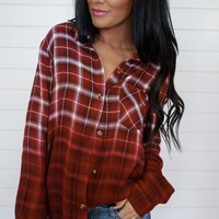 Harvest Plaid Top