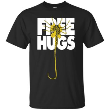 Alien T shirt Free Hugs