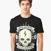 'Outlaw' Graphic T-Shirt by hypnotzd