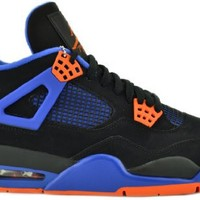 "Air Jordan 4 IV Retro ""The Shot"" Cavs Black/Safety Orange-Game Royal Limited Edition"
