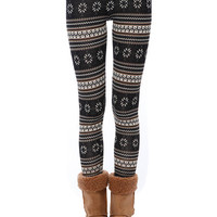 Papaya Clothing Online :: FAIR ISLE KNIT LEGGINGS