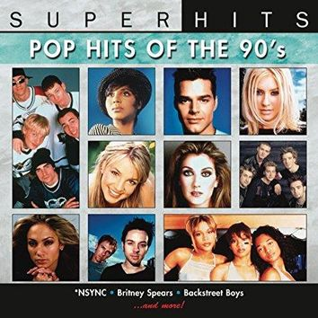 Various Artists & NSYNC & Britney Spears & Christina Aguilera & Backstreet Boys & Savage Garden & TLC & Toni Braxton & Celine Dion & Jennifer Lopez & Ricky Martin & &                   8                  more - Super Hits: Pop Hits of the 90's