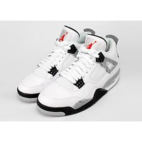Best Deal AIR JORDAN 4 RETRO 'WHITE CEMENT 89'