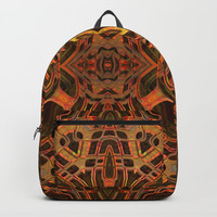Another Day, Another Abstract Backpack by Lyle Hatch