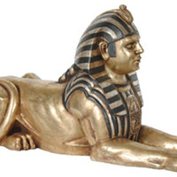 Egyptian Sphinx Statue (2.5 FT Long)