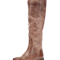 Women's Antiqued Paige Tall Riding Boot - Tan