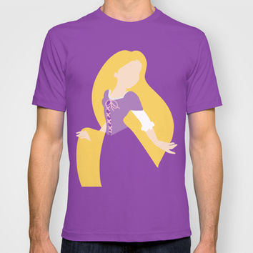 Rapunzel - Tangled 2 T-shirt by Adrian Mentus