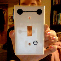 Big Hero 6 Baymax Inspired Light Switch Cover