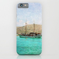iPhone 6 case At Sea 1 fine art photography phone iPhone 3g 3gs 4 4s 5s 5c 6 6 plus iPod touch Samsung Galaxy S4 S5 S6 aqua blue nautical