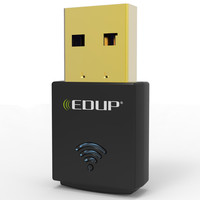 EUDP 300Mbps Wireless WiFi Adapter Broadband Network Receiver  RTL8192CU Mini For PC Desktop Laptop EP-N1557