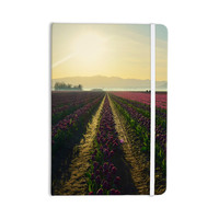 """Robin Dickinson """"Here Comes The Sun"""" Flower Landscape Everything Notebook"""
