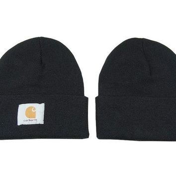 DCCKUH3 Carhartt Women Men Embroidery Winter Beanies Knit Hat Cap