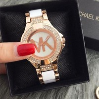 MK Ladies Men Fashion Quartz Watches Wrist Watch-9